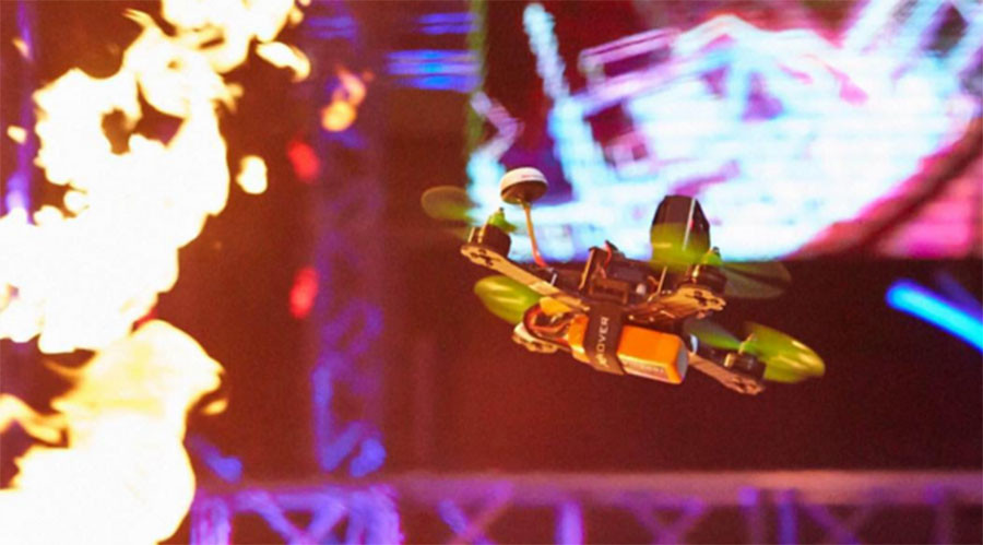 Neon VR: Drones provide trippy simulation of space flight (VIDEO)