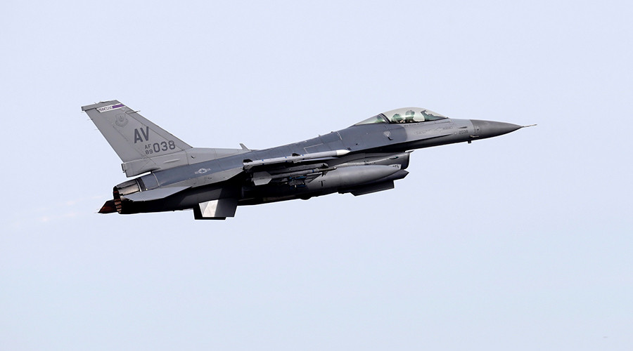 F-16 crashes in Bagdad, Arizona; condition of fighter pilot unknown