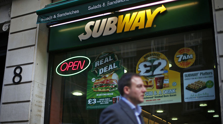 Wanted murder suspect found 'working in Subway'