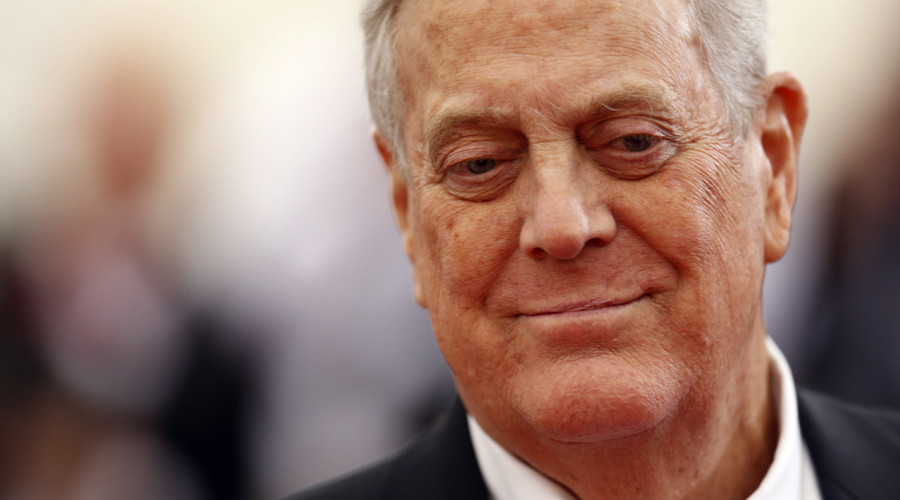 Billionaire David Koch resigns from NYC's Natural History museum board