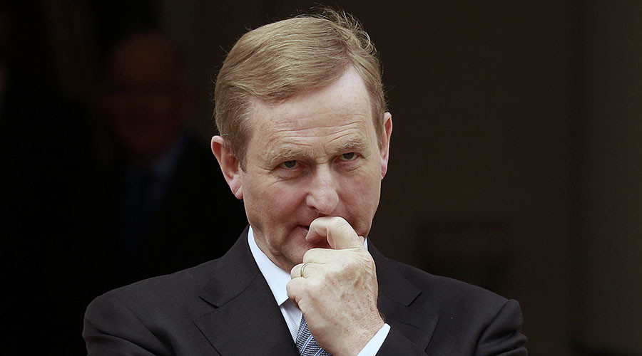 Taoiseach Enda Kenny will speak at the event Saturday amid protests. ©Cathal McNaughton