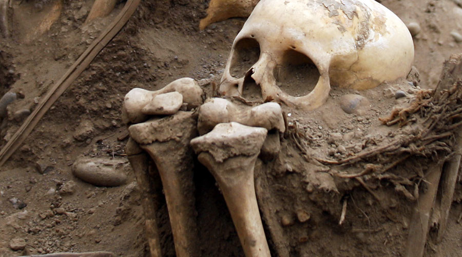 Bones from suspected African burial ground found under New York street