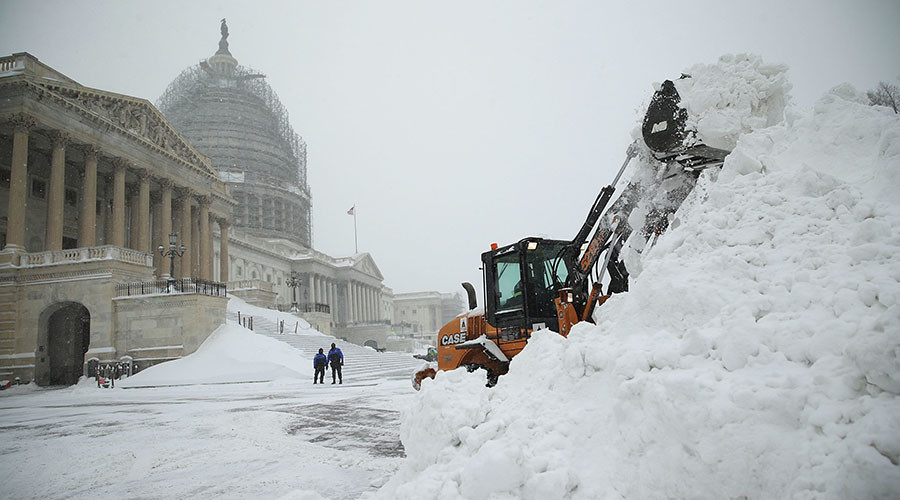 28 inches of snow, floods, emergency in NY: Epic & deadly storm hits East Coast (PHOTOS,VIDEOS)