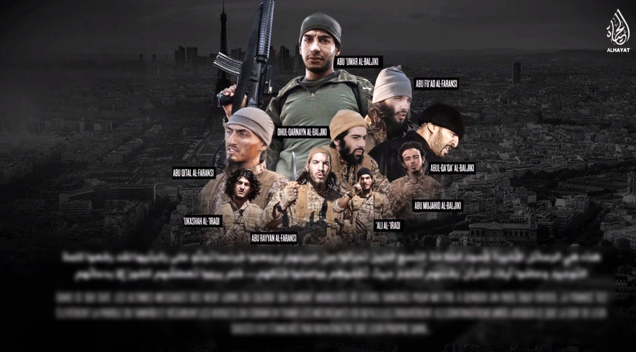 New ISIS video features 'last words' of Paris attackers, threats to UK