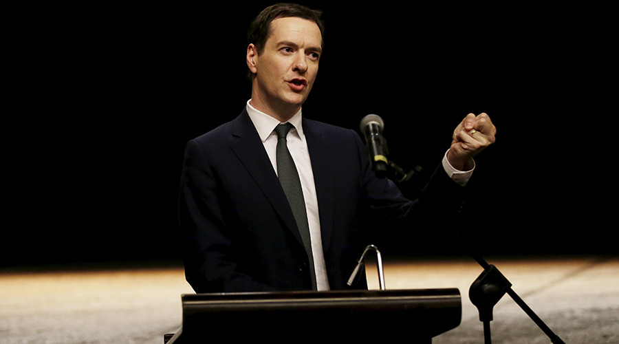 Britain's Chancellor of the Exchequer George Osborne © Jason Lee