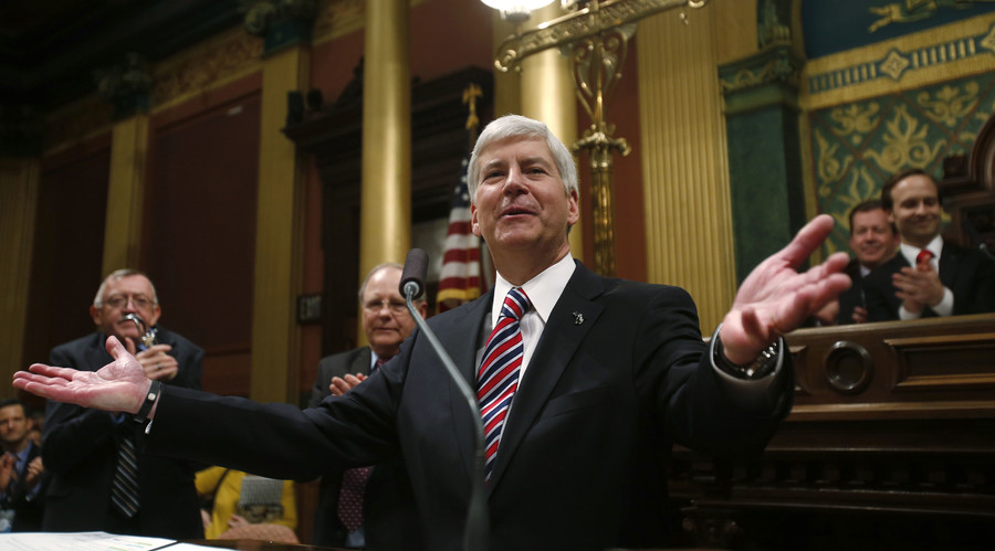 'Horrific experiment': MI Gov. Snyder slammed for power grabs from minority communities, cronyism