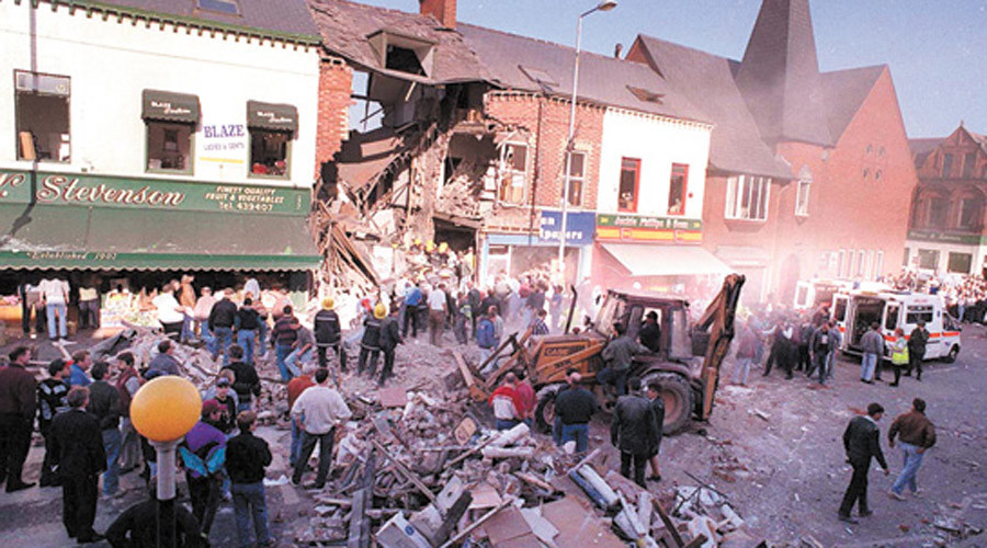 Aftermath of the Shankill Road Bombing © Wikipedia