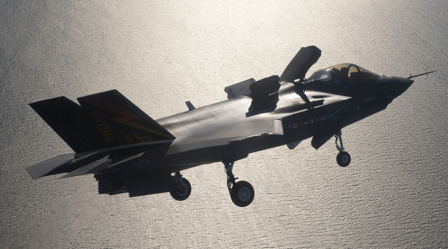 Long overdue F-35 jets will finally be flown at UK air shows – by Americans