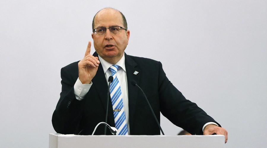Israeli Defence Minister Moshe Ya'alon © Adnan Abidi