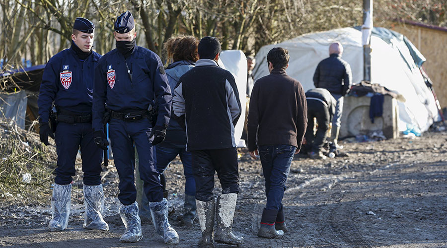 3 injured in French refugee camp shooting & stabbing