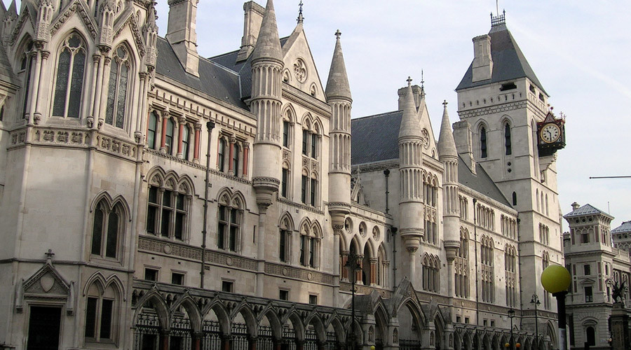Royal Courts of Justice, London © Wikipedia