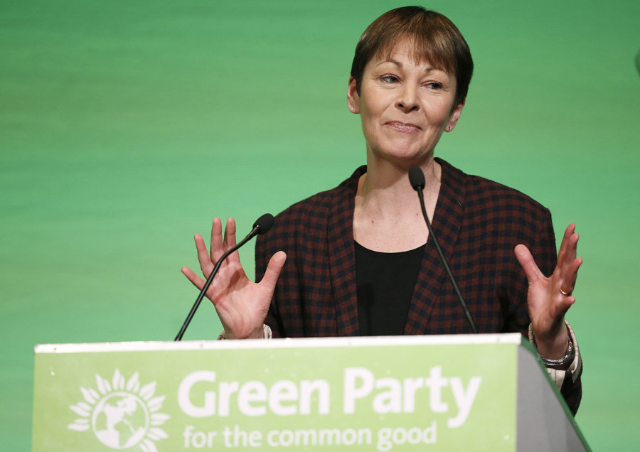 Britain's Green Party MP Caroline Lucas © Phil Noble