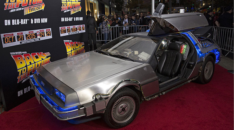 Iconic DeLorean car is coming back to the future
