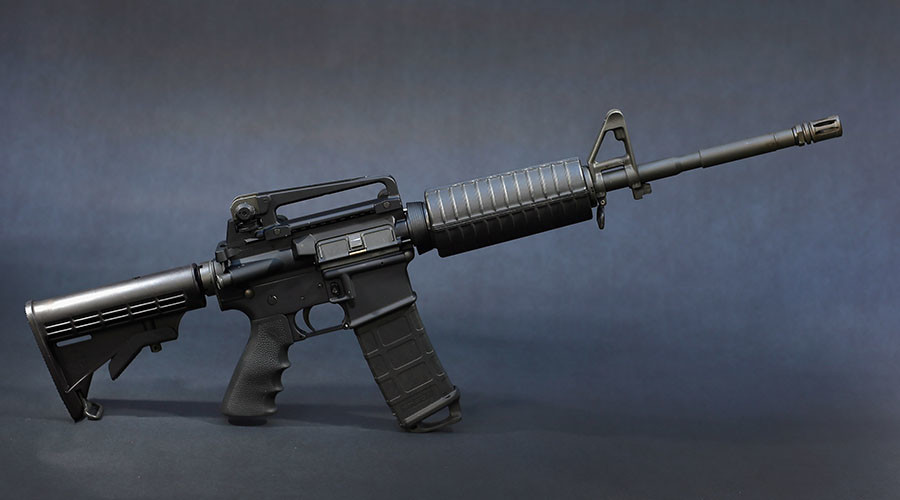 AR-15 rifle. © Joe Raedle / Getty Images / AFP