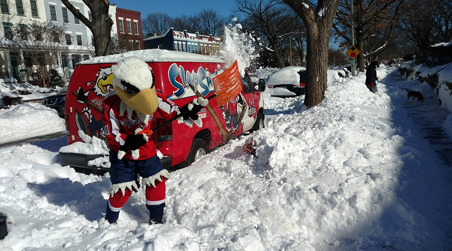 US sports battle to reboot fixtures after blizzard