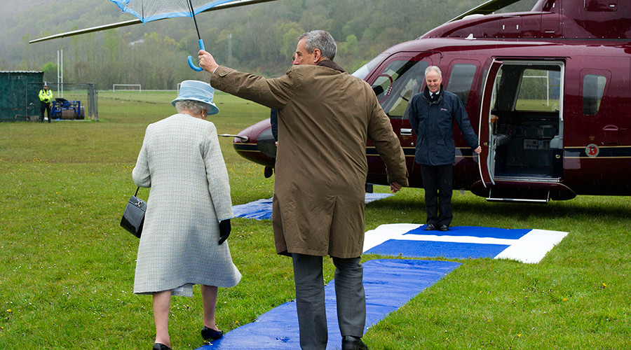 The Queen's chopper: Her Majesty is recruiting a new helicopter pilot