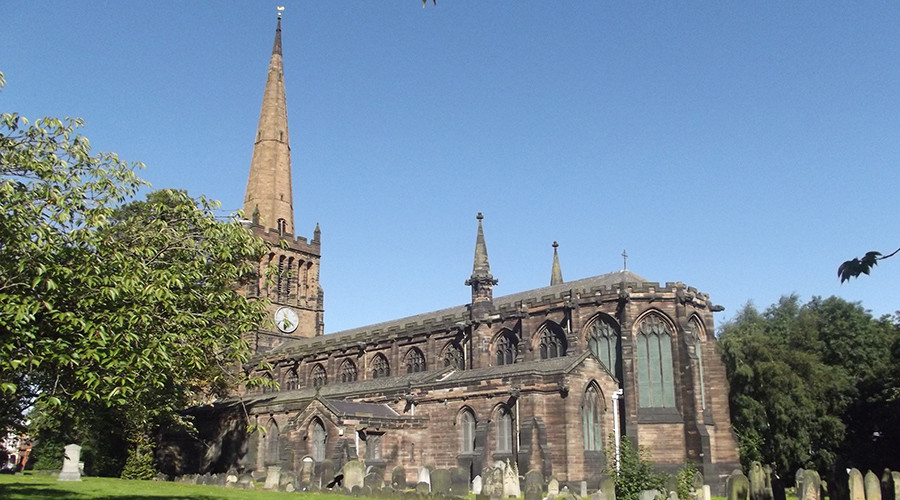 Police probe porn star's hardcore film that defiles 137yo Warwickshire church