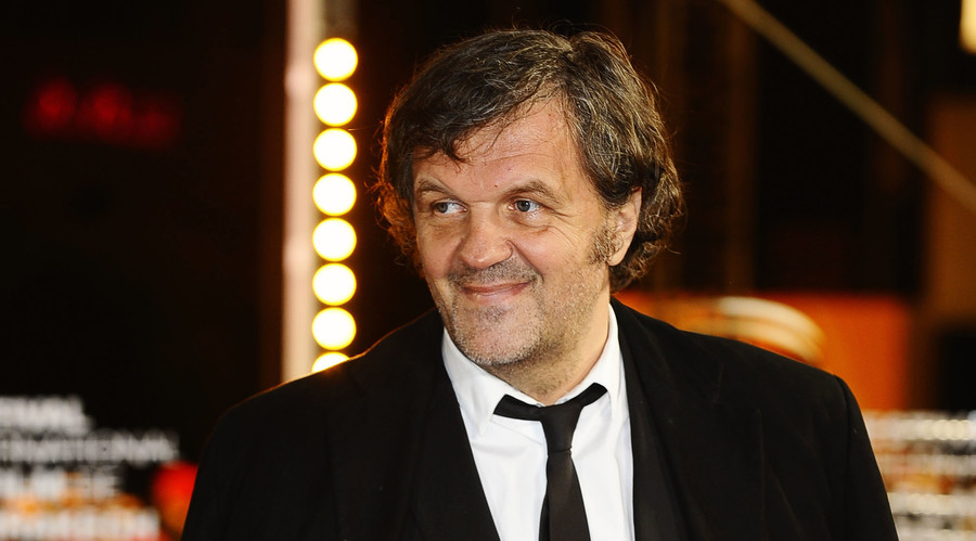 Serbian filmmaker and actor Emir Kusturica. © Str.