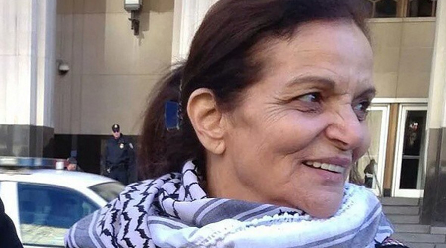 Palestinian activist Rasmea Odeh. @all_exclusive123