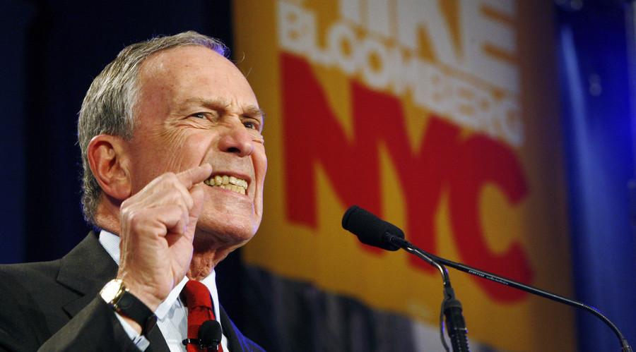 New York City Mayor Michael Bloomberg. © Shaun Best