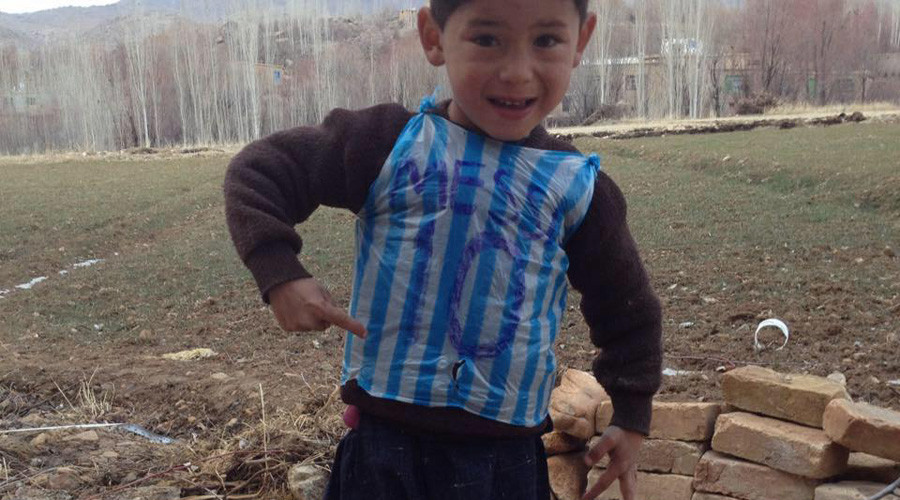 Messi mystery solved: Young boy in plastic bag jersey found