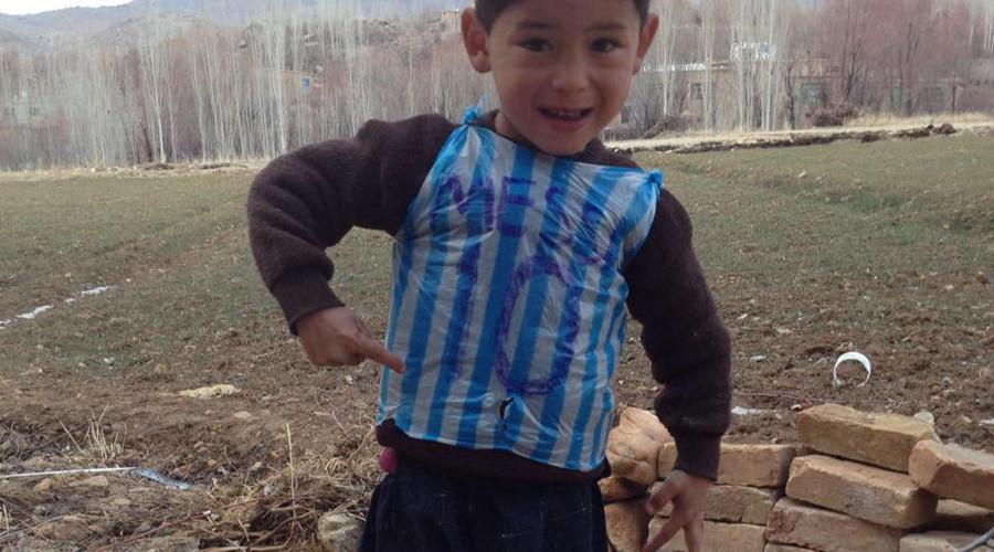 Murtaza Ahmadi is from Afghanistan's Ghanzi Province. © Hamayon Ahmadi
