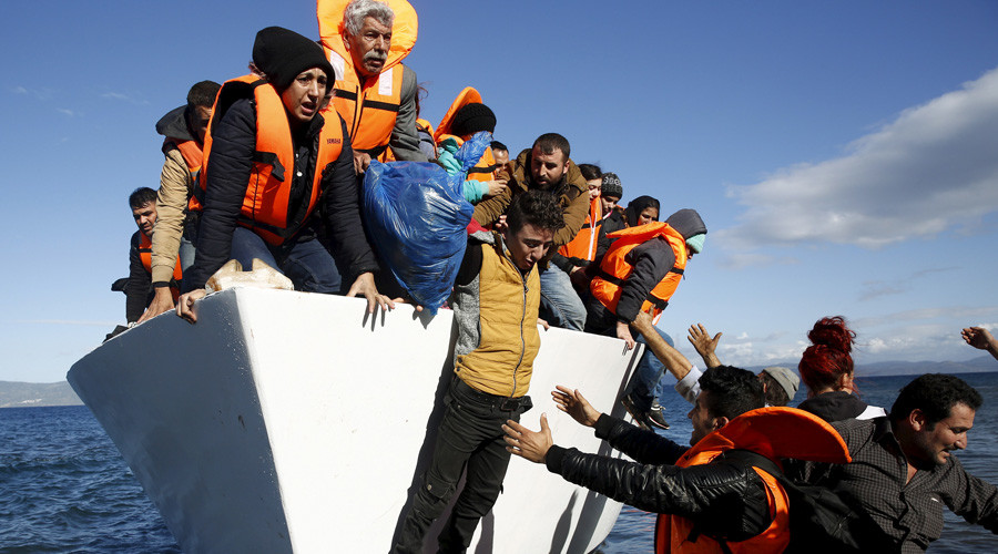 Up to 40 migrants, including 5 children, drown as boat sinks off Turkey