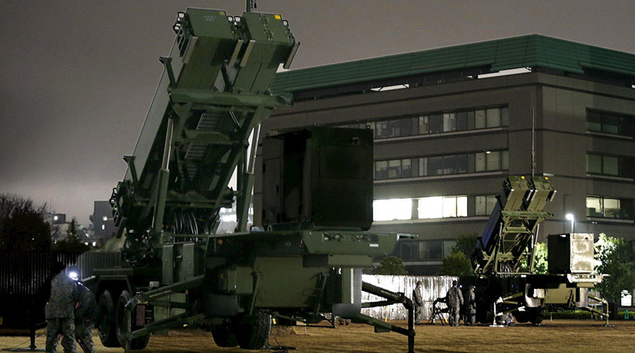 Japan sets up anti-air missiles in Tokyo to boost defense against N. Korea
