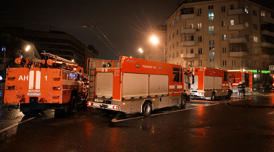 12 bodies found at Moscow's burning factory, murder & arson suspected