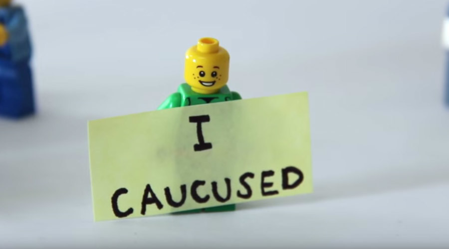 Caucuses are awesome: Iowa's unique process explained with Lego