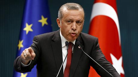 Turkey's President Tayyip Erdogan. ©Umit Bektas