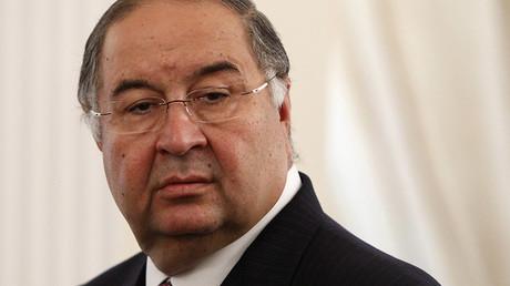 President of the International Fencing Federation Alisher Usmanov. © Maxim Shemetov