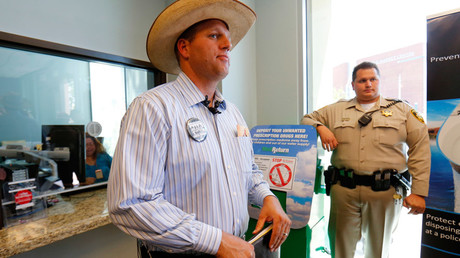 Ammon Bundy is occupying the reserve with a group of up to 150 people.  © Mike Blake