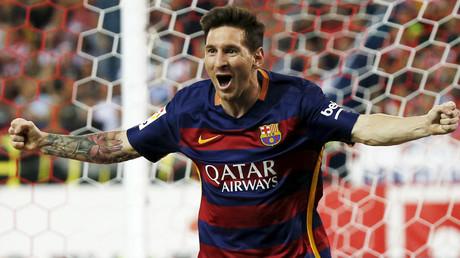 Barcelona's Lionel Messi © Javier Barbancho