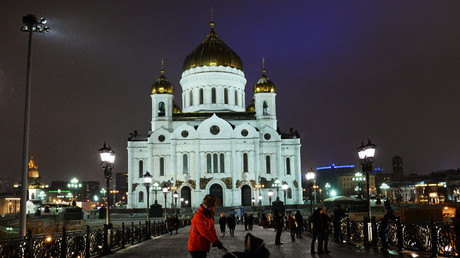 The Cathedral of Christ the Savior in Moscow © Natalia Seliverstova