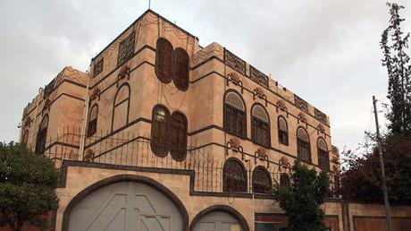 Iranian embassy in Sanaa. ©Mohammed Huwais