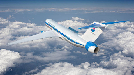 Hybrid Electric Concept Plane. © NASA