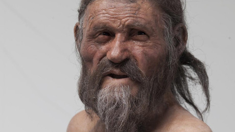 This is a picture of the Iceman © South Tyrol Museum of Archaeology, Foto Ochsenreiter
