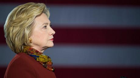 Democratic presidential candidate Hillary Clinton  © Craig Lassig