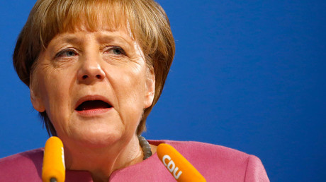 German Chancellor Angela Merkel © Kai Pfaffenbach