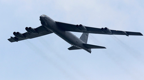 A Boeing B-52 Stratofortress strategic bomber from the United States Air Force (USAF) © Tim Chong