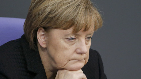 German Chancellor Angela Merkel. © Fabrizio Bensch