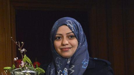 Samar Mohammad Badawi, Saudi Arabian-American human rights activist. © Anders Wiklund