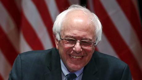 U.S. Democratic presidential candidate and U.S. Senator Bernie Sanders. ©Shannon Stapleton