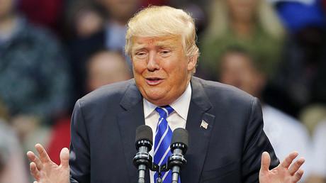Republican presidential candidate Donald Trump. ©Chris Keane