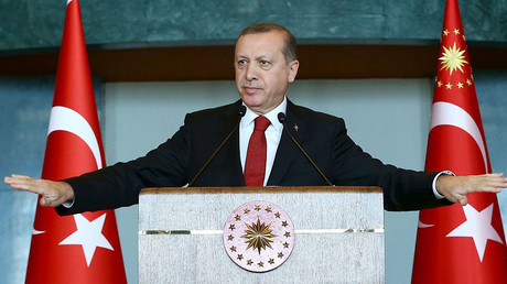 Turkey's President Tayyip Erdogan. © Kayhan Ozer / Presidential Palace Press Office