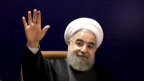 Iranian President Hassan Rouhani. © Raheb Homavand