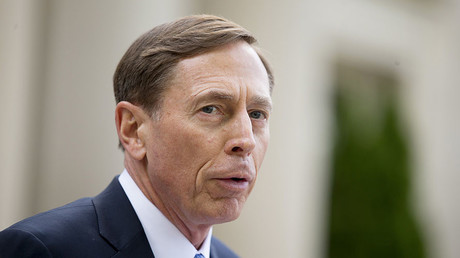 Former CIA director David Petraeus. © Chris Keane