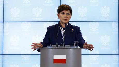 Poland's Prime Minister Beata Szydlo © Kacper Pempel