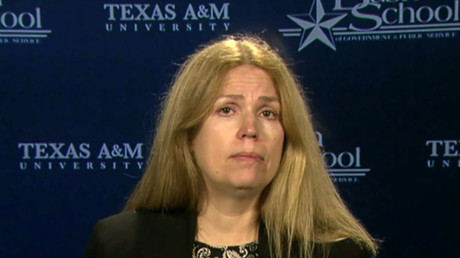 Valerie Hudson, a Professor of Political Science at Texas A&M University.